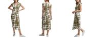 Calvin Klein Tie-Dyed Midi Dress