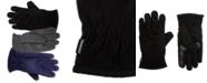 Isotoner Signature Men's smartDRI Fleece smarTouch Gloves