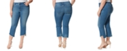 Jessica Simpson Trendy Plus Size Adored Kick-Flare Jeans