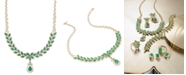 EFFY Collection Brasilica by EFFY® Emerald (11-3/4 ct. t.w.) and Diamond (2-3/4 ct. t.w.) Pendant Necklace in 14k Gold, Created for Macy's