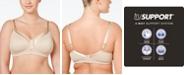 Playtex Full Figure 18 Hour Sleek & Smooth Wireless Bra 4803, Online Only
