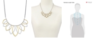 Lucky Brand Two-Tone Petal Statement Necklace
