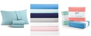 Martha Stewart Collection Solid Microfiber 3-Pc. Twin Sheet Set, Created for Macy's