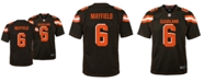 Nike Baker Mayfield Cleveland Browns Game Jersey, Big Boys (8-20)