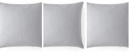 "Colcha Linens Cambric Red Square Cushion 20""x20"""