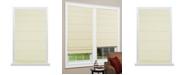 "US Shade & Shutter Cordless Texture Look Room Darkening Fabric Roman Shade, 35""x64"""