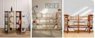 Yu Shan 4 - Shelf Corner Folding Bookcase