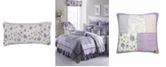 American Heritage Textiles Lavender Rose Cotton Quilt Collection, Accessories
