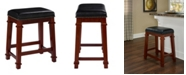 Linon Home Decor Kennedy Backless Counter Stool