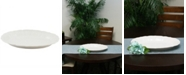 Laurie Gates Cafeacute Posh Oval Durastone Embossed Platter