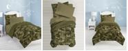 Dream Factory Geo Camo Twin Comforter Set