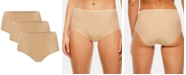 Chantelle Women's 3-Pack Soft Stretch One Size Seamless Brief 1007, Online Only