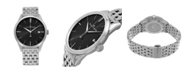 Stuhrling Alexander Watch A911B-03, Stainless Steel Case on Stainless Steel Bracelet