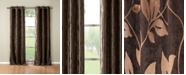 "Duck River Textile Blair 36"" x 84"" Leaf Print Blackout Curtain Set"
