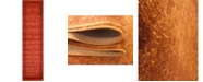 "Bridgeport Home Aldrose Ald4 Orange 2' 7"" x 10' Runner Area Rug"