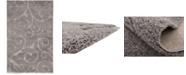 Bridgeport Home Malloway Shag Mal1 Dark Gray 5' x 8' Area Rug