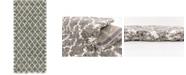 """Bridgeport Home Fazil Shag Faz4 Gray 2' 7"""" x 6' Runner Area Rug"""