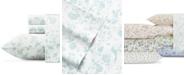 Laura Ashley Garden Palace Pastel Blue Sheet Set, Queen