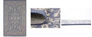 Bridgeport Home Pashio Pas6 Navy Blue 5' x 8' Area Rug