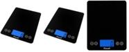 Escali Corp Arti XL Glass Digital Scale, 22lb