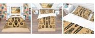 Design Art Designart 'Ethnic Decorative Mask' African Duvet Cover Set - King