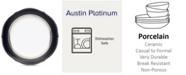 Noritake Dinnerware, Austin Platinum Accent Plate