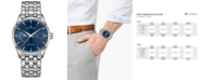 Hamilton Men's Swiss Automatic Jazzmaster Stainless Steel Bracelet Watch 42mm