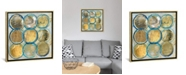 "iCanvas Indigo Gold by Carol Robinson Gallery-Wrapped Canvas Print - 18"" x 18"" x 0.75"""