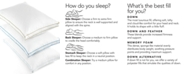 Lauren Ralph Lauren CLOSEOUT! Lawton Down Alternative Medium Density Standard Gusset Pillow, 300 Thread Count