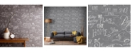 Graham & Brown Graham Brown Chalk Board Grey Wallpaper