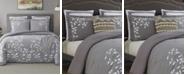 Cathay Home Inc. Laurel Park Autumn Chain Emb Cotton Full Comforter Set