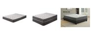 Payton Medium Firm Foam Encased Pillow Top Pocketed Coil Innerspring Mattress, Twin