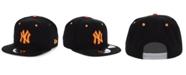 New Era New York Yankees Orange Pop 9FIFTY Cap