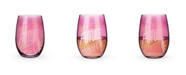 Blush The Future is Female Stemless Wine Glass