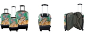 Chariot Mod Tiger 3-Pc. Hardside Luggage Set