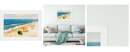 """Paragon Picture Gallery Paragon Perfect Beach Day Framed Wall Art, 31"""" x 43"""""""