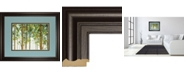 "Classy Art Forest Study I Crop by Lisa Audit Framed Print Wall Art, 34"" x 40"""