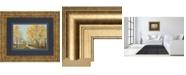 "Classy Art Golden Down by Matin Theodosiu Framed Print Wall Art, 34"" x 40"""