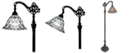 Amora Lighting Tiffany Style Adjustable Floor Lamp