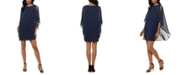 XSCAPE Overlay Dress
