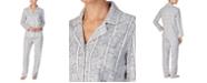Lauren Ralph Lauren Women's Printed Fleece Pajama Set