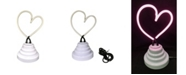 Creative Motion Battery-Operated Heart Neon