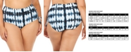 Raisins Curve Trendy Plus Size Juniors Fiji Printed North Shore High-Waist Tummy Control Bottoms
