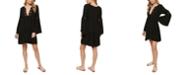 O'Neill Juniors' Salt Water Solids Crochet Bell-Sleeve Cover-Up Dress