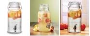Circle Glass Lancaster Hermetic Beverage Dispenser, 1 Gal