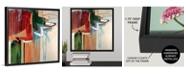 "GreatBigCanvas 'Kink' Framed Canvas Wall Art, 16"" x 16"""
