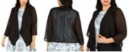Calvin Klein Plus Size Chiffon Cardigan