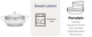Noritake Sweet Leilani Covered Vegetable Bowl 48 Oz.