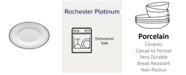 Noritake Rochester Platinum Butter Relish