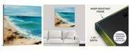 "GreatBigCanvas 36 in. x 36 in. ""Coastal Breeze"" by  Sydney Edmunds Canvas Wall Art"